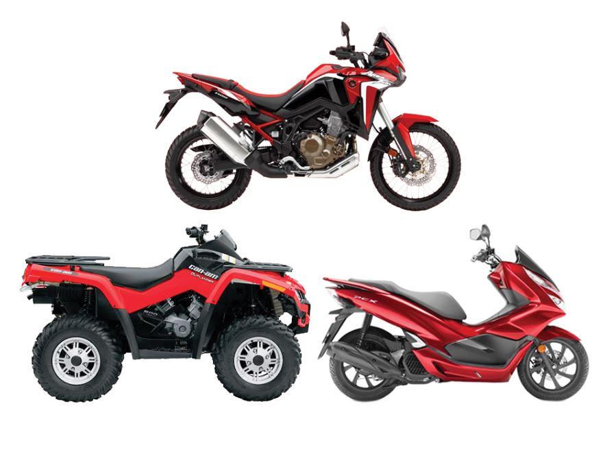 Univerzálne diely pre moto, ATV, skúter