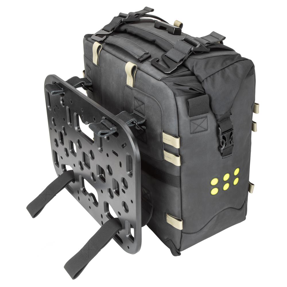 overlanders - bočné tašky s montážou na platformu