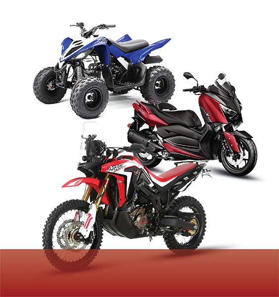 Motodiely podľa modelu motocykla